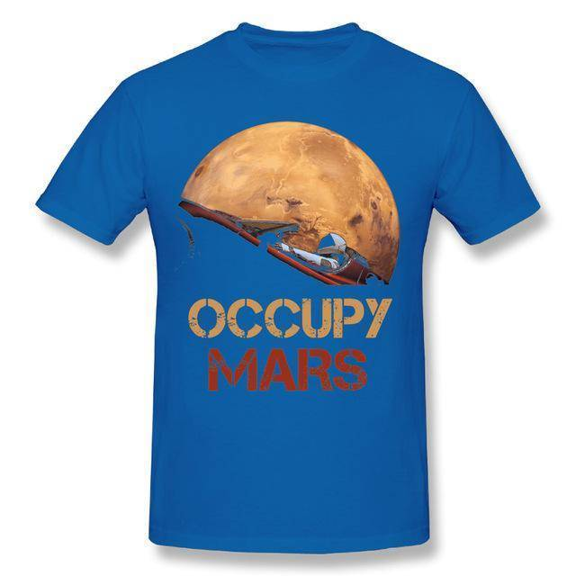 Occupy Mars Starman T Shirt - SpaceX  merchandise