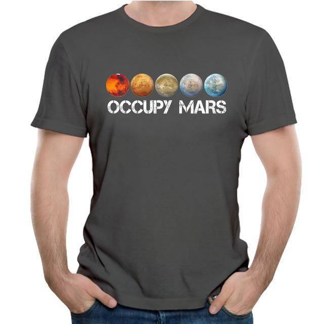 Occupy Mars Terraform - SpaceX  merchandise