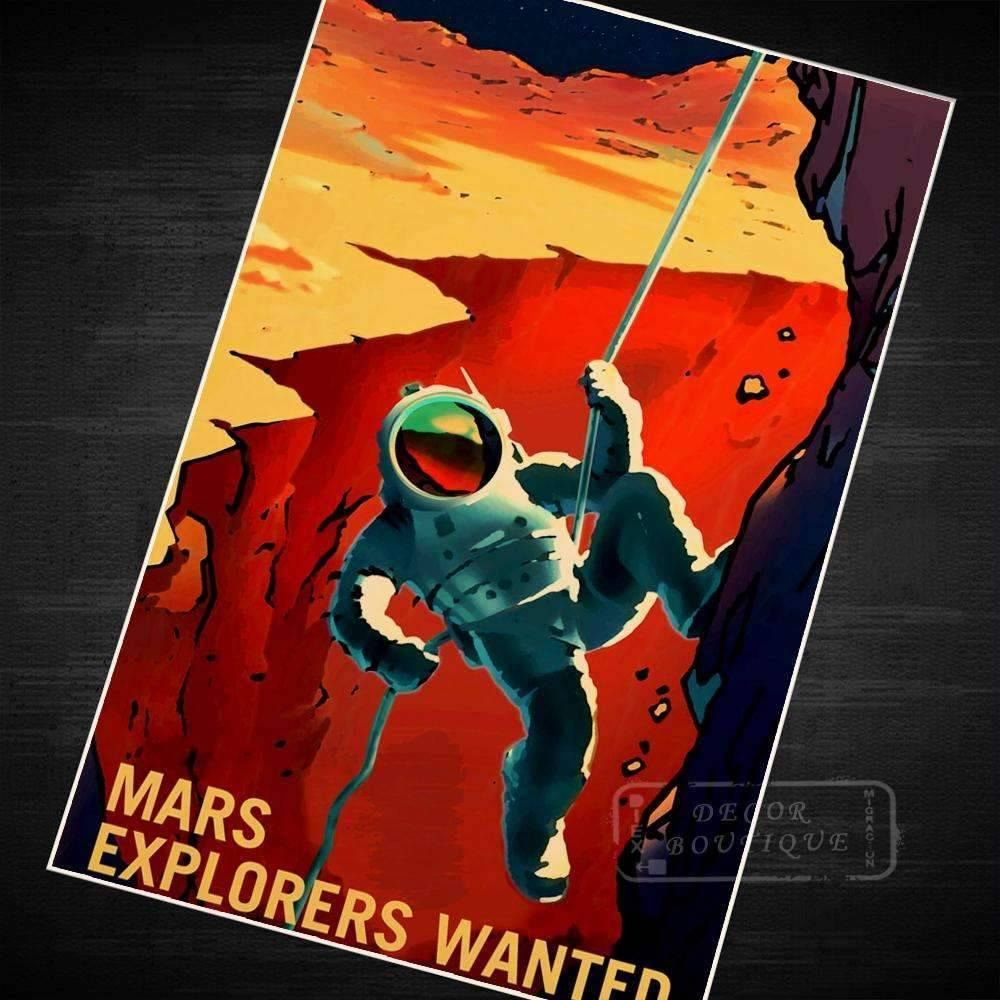 Mars Explorers Wanted - SpaceX  merchandise