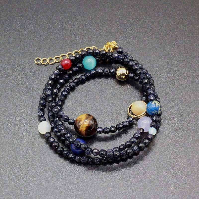 Multi layered Solar System Bracelet - Space Shop