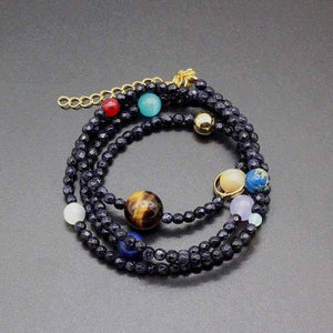 Multi layered Solar System Bracelet - SpaceX  merchandise