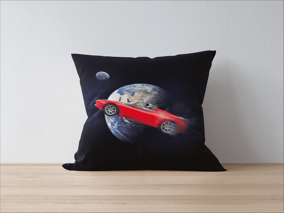 Starman Pillowcase - SpaceX  merchandise
