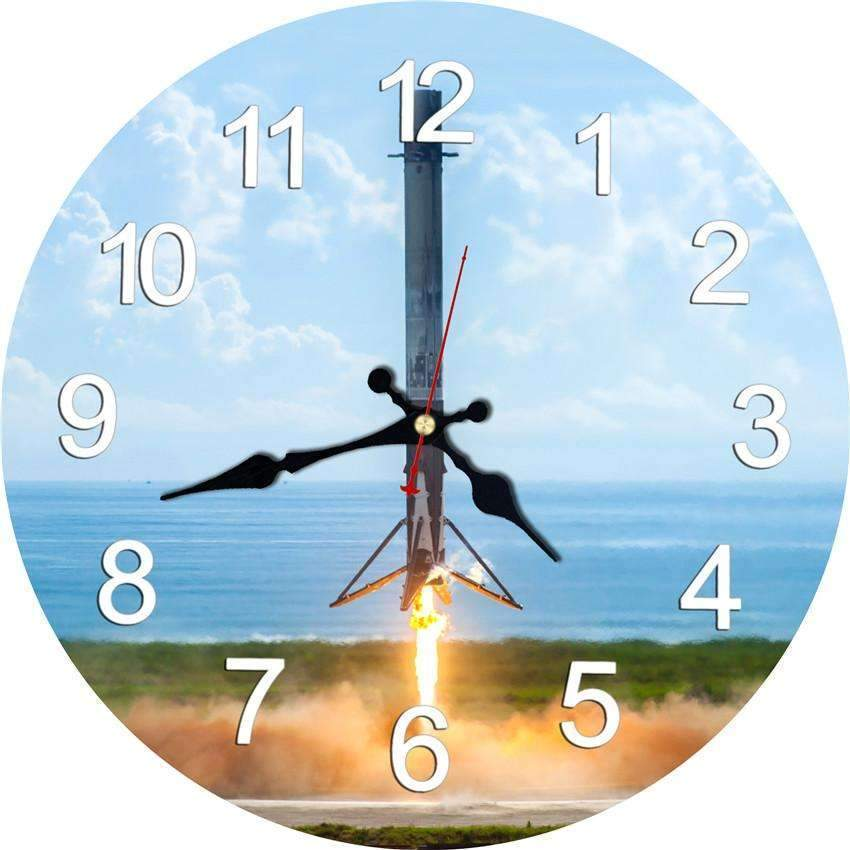 Wall Clock - SpaceX  merchandise