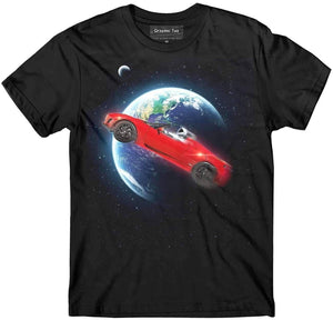 Roadster t-shirt - SpaceX  merchandise