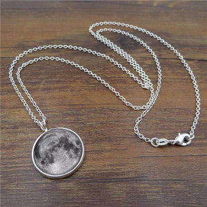 Moon Necklace - SpaceX  merchandise