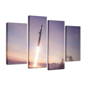 BFR Canvas #1 - SpaceX  merchandise