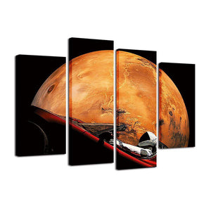 Occupy Mars Canvas - SpaceX  merchandise