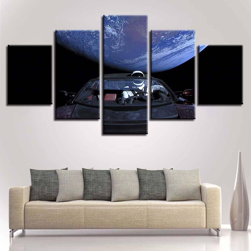 Starman  Canvas N2 - SpaceX  merchandise