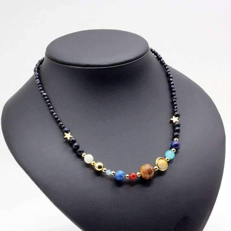 Solar System Necklace - SpaceX  merchandise