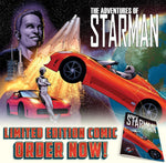 The Adventures of Starman – Limited Edition Comic - SpaceX  merchandise