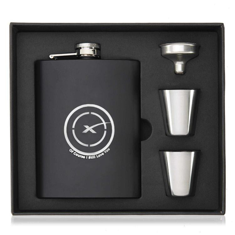 Ocisly Flask - SpaceX  merchandise