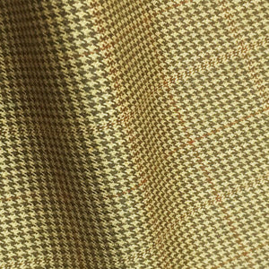 – LIGHT GREEN BROWN CHECKS 250-280 GRAMS - H7714