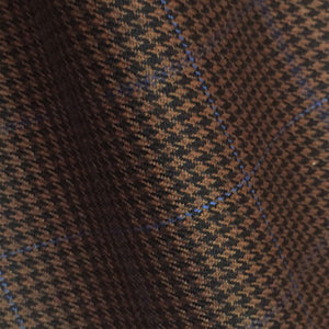 – DARK BROWN BLUE CHECKS 250-280 GRAMS - H7717