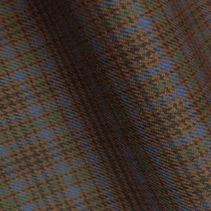 – BROWN BLUE SMALL CHECKS 250-280 GRAMS - H7720
