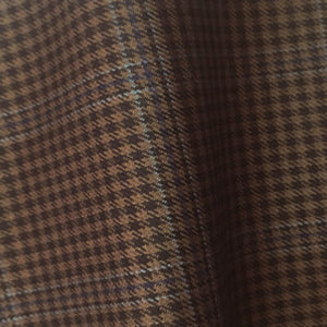 – DARK BROWN DOUBLE OVERCHECK 250-280 GRAMS - H7733