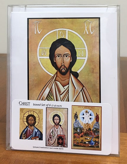 Christ Icon Cards - boxed set
