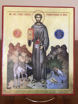 Saint Francis of Assisi - icon