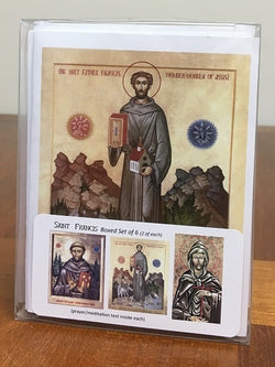 Saint Francis Icon Cards - boxed set