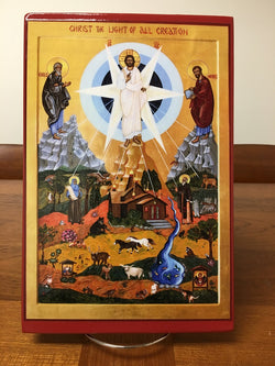 Christ the Light of All Creation - icon