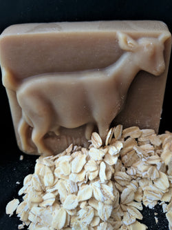 Oatmeal, Milk and Honey Scented Goat's Milk Soap