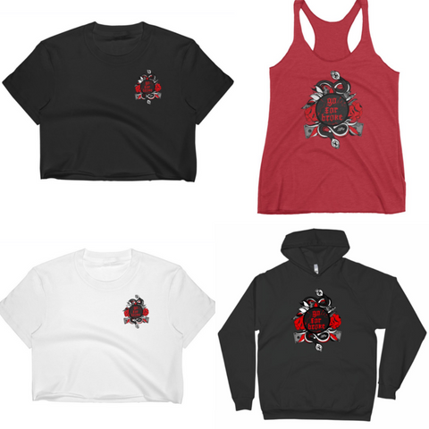 "Women's Red & Black ""R&B"" Collection"