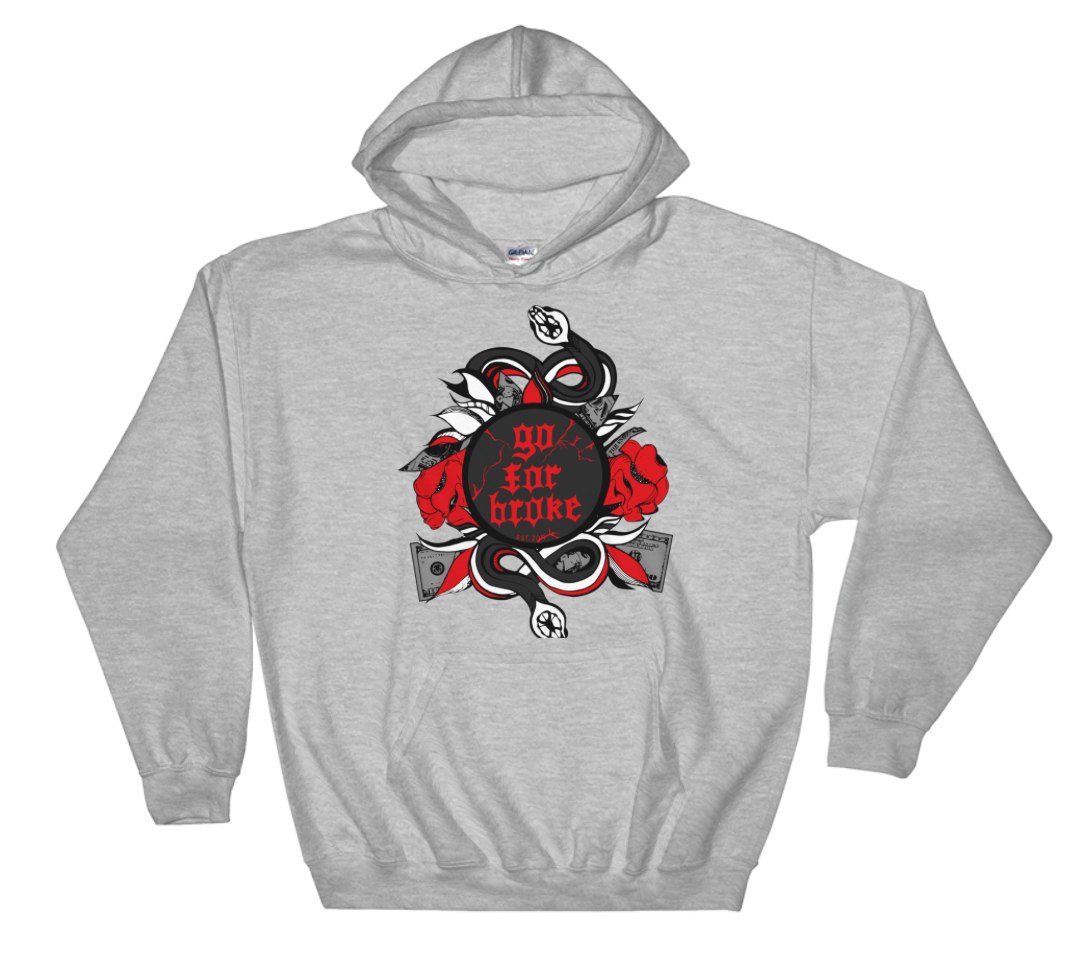 Men's Go For Broke R&B Collection Hoody