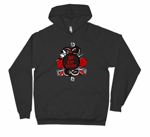 Women's Go For Broke R&B Collection Black Hoodie