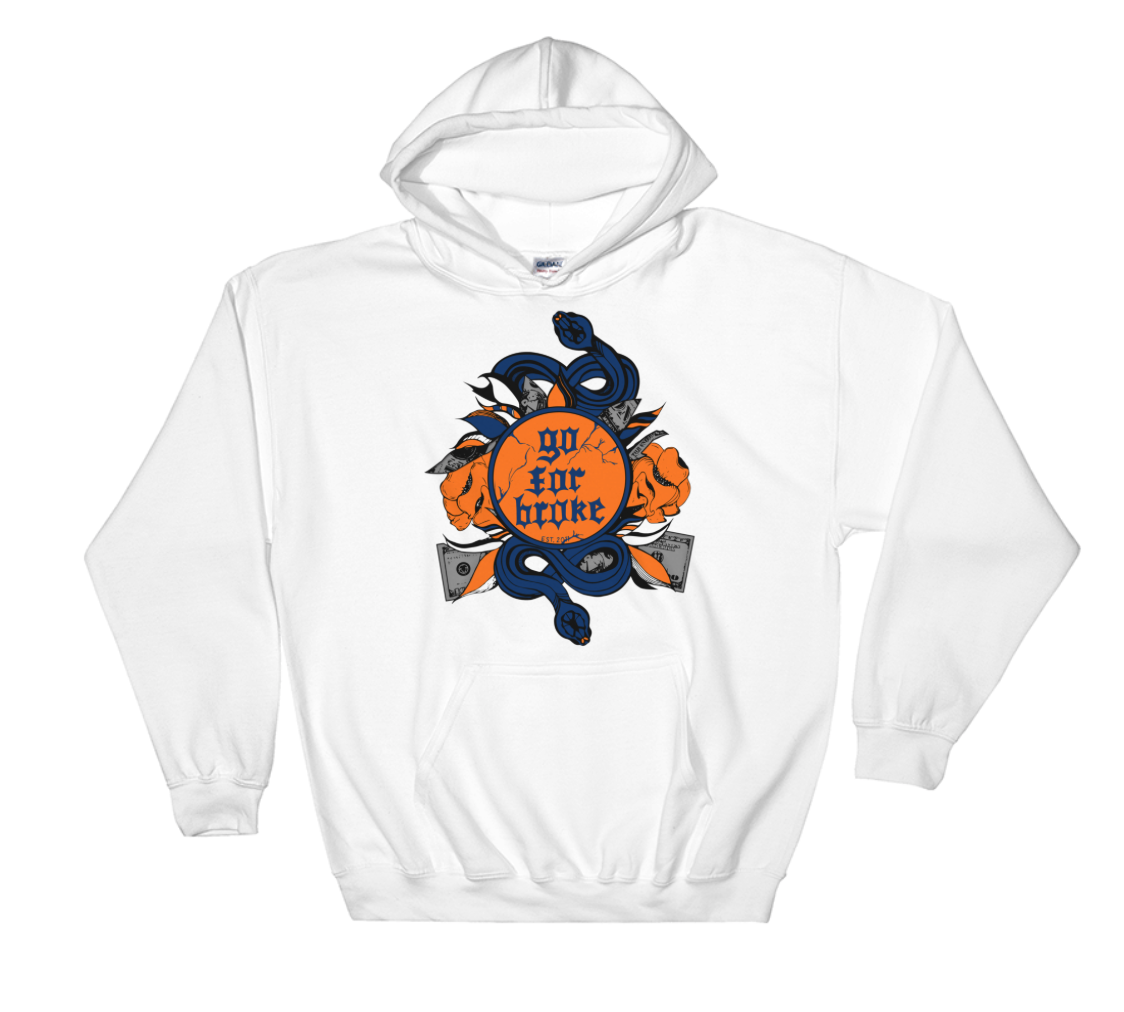 Men's Go For Broke CUSE Original Logo Collection Hoodie