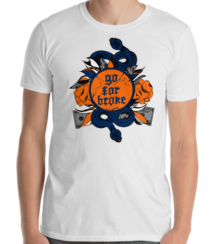 Men's Go For Broke CUSE Original Logo Collection T