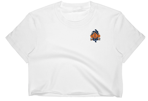 Women's Go For Broke CUSE Original Logo Collection Crop Top
