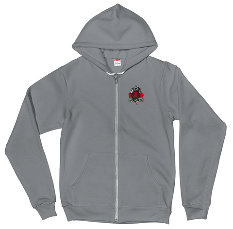 Men's Go For Broke R&B Collection Pocket Logo Zip Hoodie