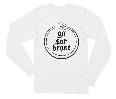 Women's Go For Broke OUROBOROS Black Collection Long Sleeve Shirt