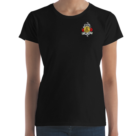 Women's Go For Broke Original Rose Gold Collection Pocket Logo T
