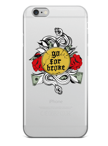 Go For Broke iPhone Cases