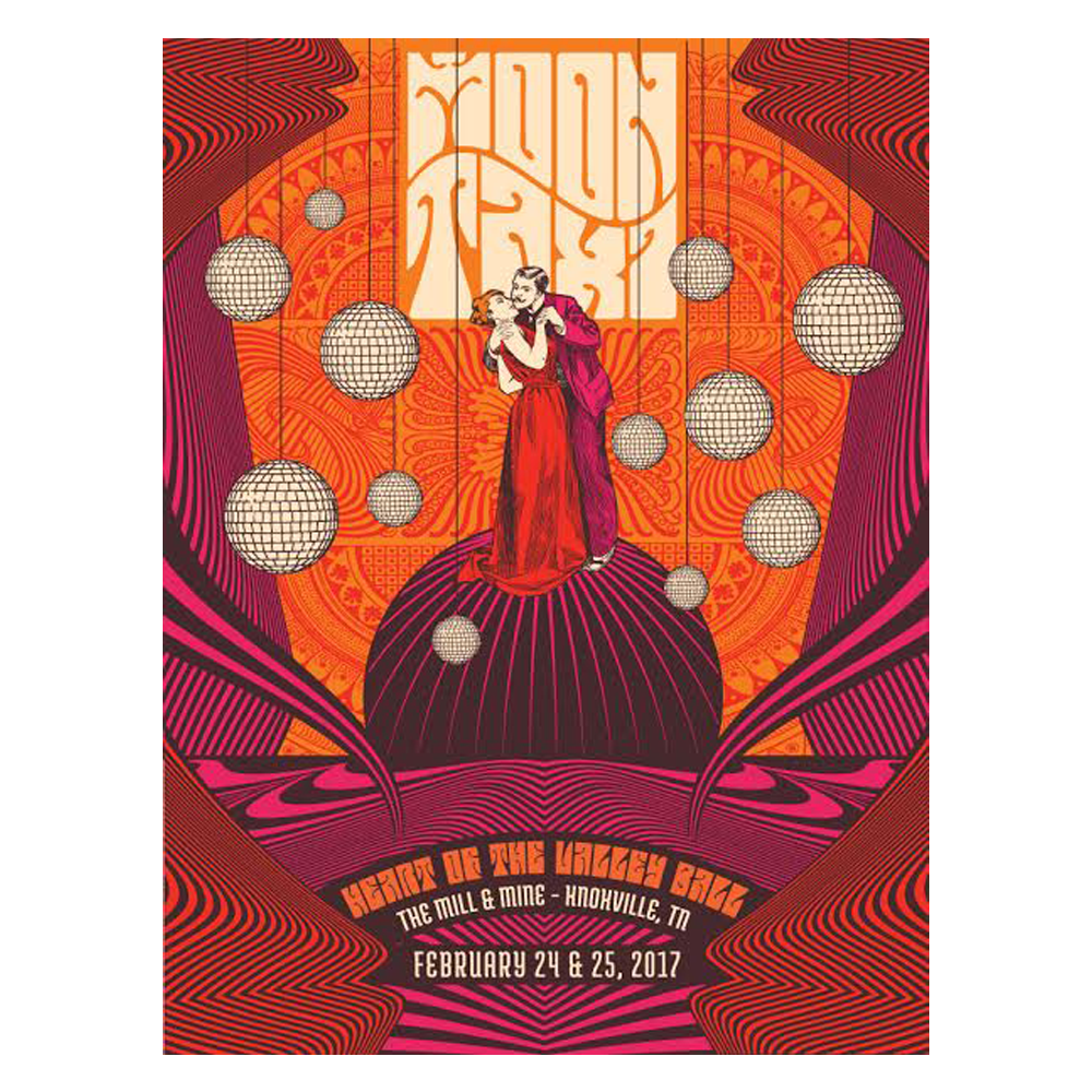 Moon Taxi - 2/24-2/25 - Knoxville, TN Poster