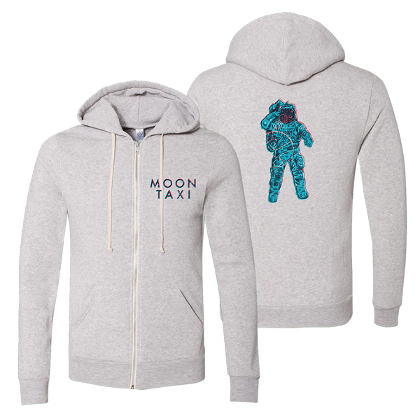 Moon Man Zip-Up Hoodie