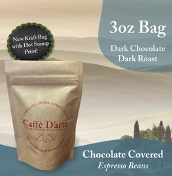 Chocolate Covered Caffé D'arte Espresso Beans