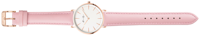 Pink Leather Watch | Rose Gold Watch Ladies | Watches by Harper Rose