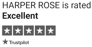 Trustpilot | Excellent Trust Pilot | Harper Rose 5 Star Trustpilot | Great Customer Service