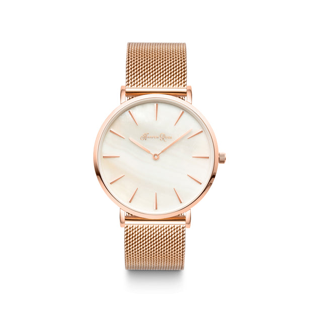 Rose Gold Mesh (Mother of Pearl) - Harper Rose