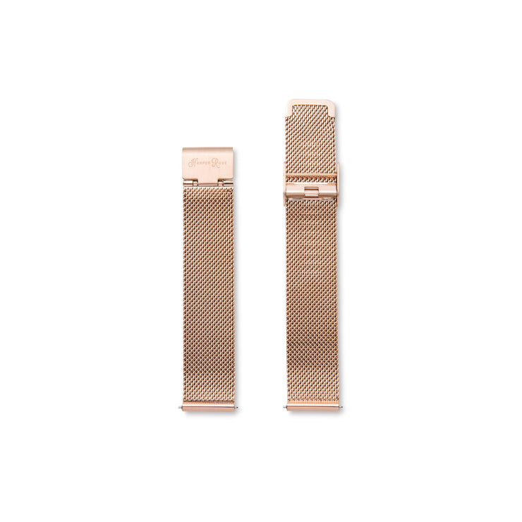 Rose Gold Mesh (Rose Gold/White)