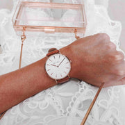 Pastel Brown Strap - Harper Rose