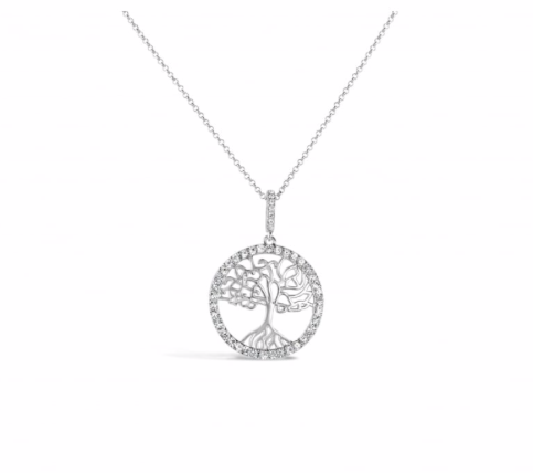 Silver Tree of Life Necklace - Harper Rose