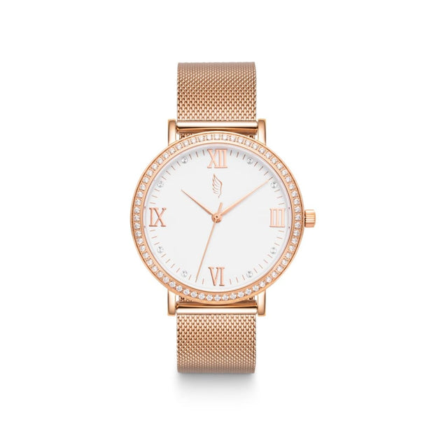 Alohi - Rose Gold Mesh Womens Watch - Watches