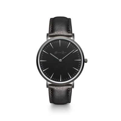 Black Leather (Black/black) - Watches