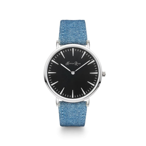 Blue Denim (Silver/black) - Watches