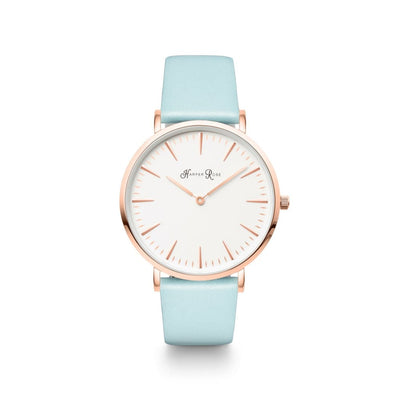 Blue Pastel (Rose Gold/white) - Watches