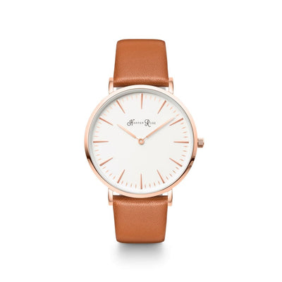 Brown Pastel (Rose Gold/white) - Watches