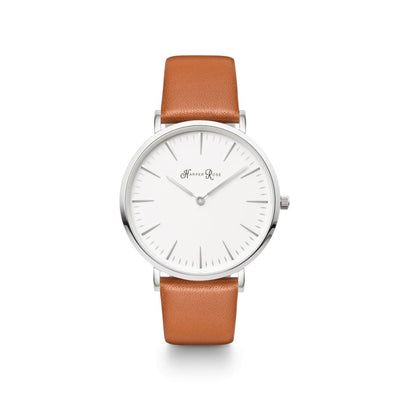 Brown Pastel (Silver/white) - Watches