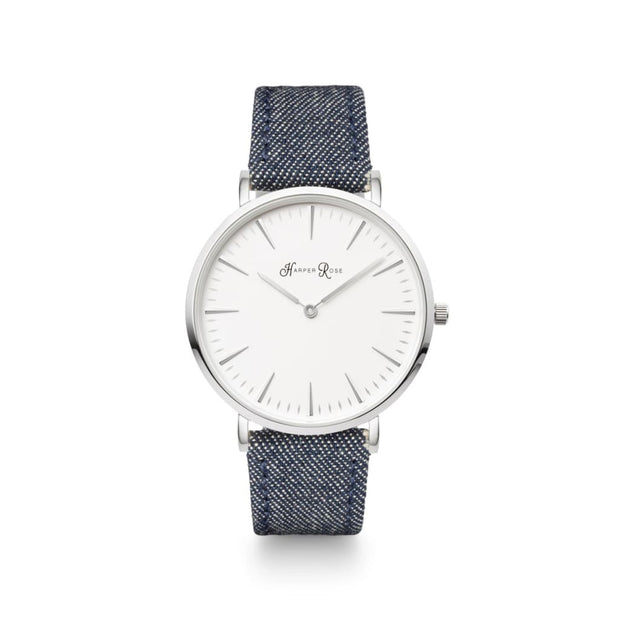 Dark Denim (Silver/white) - Watches